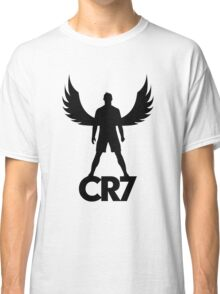 CR7 angel black Classic T-Shirt