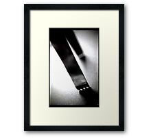Ice Tongs - Still Life Framed Print