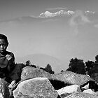 himalayan child by SRana