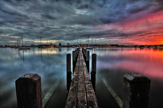 Bunbury Boat Harbour HDR by Chris Paddick