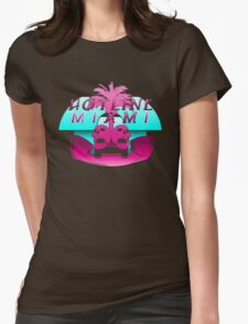 Hotline Miami Logo Womens Fitted T-Shirt