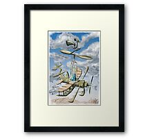Air Support :Forces of Whimsy Framed Print