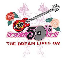 Rock and Roll 50's Music Photographic Print