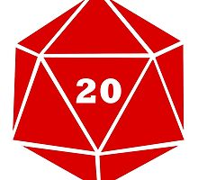 Critical Hit (d20) by Merwok