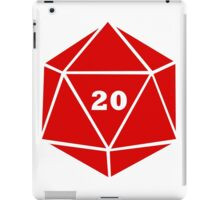 Critical Hit (d20) iPad Case/Skin
