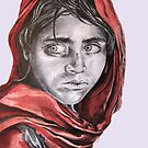 My take on the Afghan Girl by Jamie Alexander