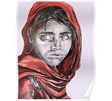 My take on the Afghan Girl Poster