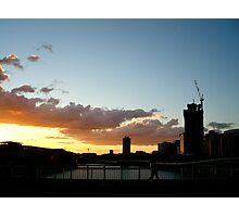 Brisbane Sunset Photographic Print