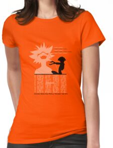 Ed - Cowboy Bebop Womens Fitted T-Shirt