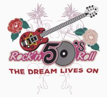 Rock and Roll 50's Music One Piece - Short Sleeve