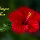 Red and Green love you mum by flexigav