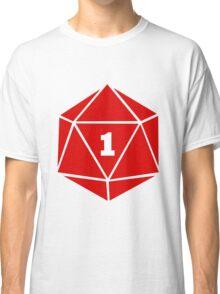 Critical Fail (d20) Classic T-Shirt