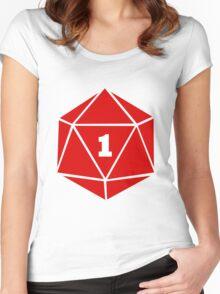 Critical Fail (d20) Women's Fitted Scoop T-Shirt
