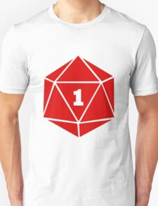 Critical Fail (d20) T-Shirt