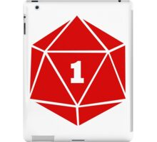Critical Fail (d20) iPad Case/Skin