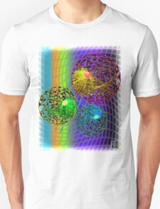 """96703210 Neutrino Alpha Particles""© Unisex T-Shirt"