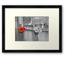 We are a sweet couple Framed Print