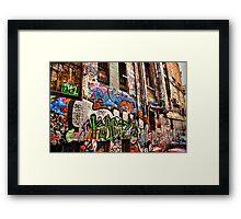 Graffiti Art 1 Framed Print