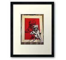 Untitled No. 2 (Pitt Bull) Framed Print