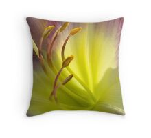 Good Morning, Lily!  II Throw Pillow
