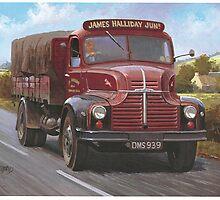 Leyland Comet 1949 by Mike Jeffries