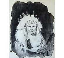 Indian Chief Photographic Print