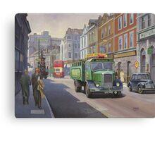 Dennis Pax dray. Canvas Print