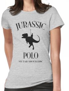 JURASSIC POLO Womens Fitted T-Shirt