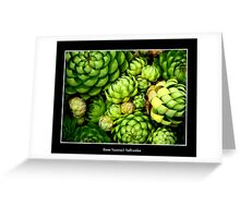 Hens & Chicks #1 Greeting Card