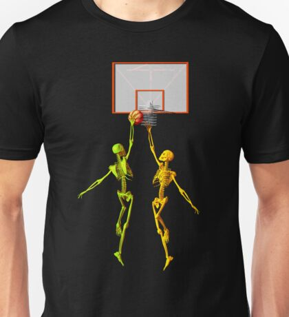 Skeleton basketball  Unisex T-Shirt