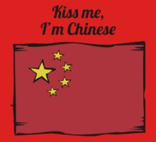 Kiss Me I'm Chinese Kids Clothes