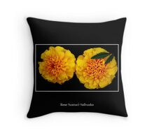 Marigolds Throw Pillow
