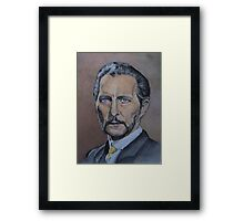 Peter Cushing: The Ghoul Framed Print