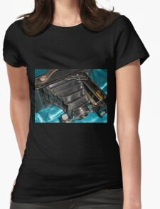 Daddy's Camera Womens Fitted T-Shirt