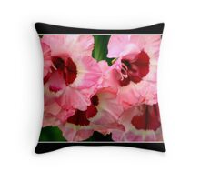 Gladiolas #2 Throw Pillow
