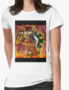 Bowser and Jr Womens Fitted T-Shirt