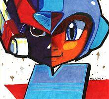 Megaman vs. Zero by Ben Shurts