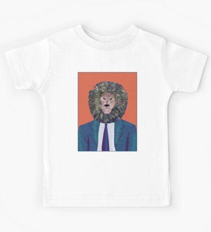 Mr. Lion's portrait Kids Tee