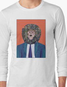 Mr. Lion's portrait Long Sleeve T-Shirt