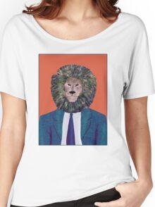 Mr. Lion's portrait Women's Relaxed Fit T-Shirt