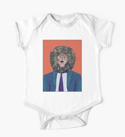 Mr. Lion's portrait One Piece - Short Sleeve
