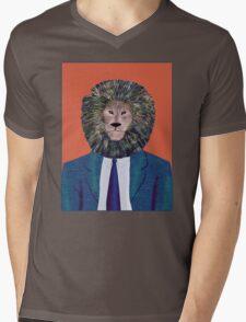 Mr. Lion's portrait Mens V-Neck T-Shirt