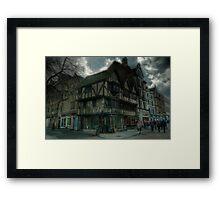 Cornmarket Oxford Framed Print
