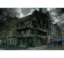 Cornmarket Oxford Photographic Print