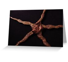 Star Sculpture Greeting Card