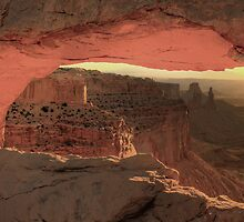 The Mesa Arch Sunrise by Wojciech Dabrowski