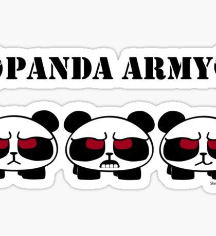 Panda Army Sticker