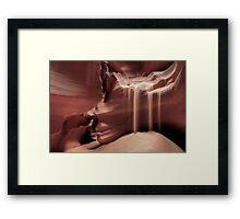 """Tse' bighanilini"" Framed Print"