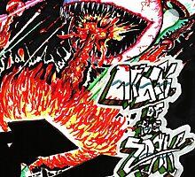 Attack of the ZORK by Ben at ThugNastyArt
