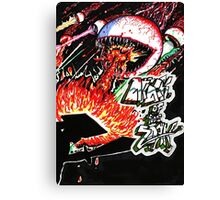 Attack of the ZORK Canvas Print